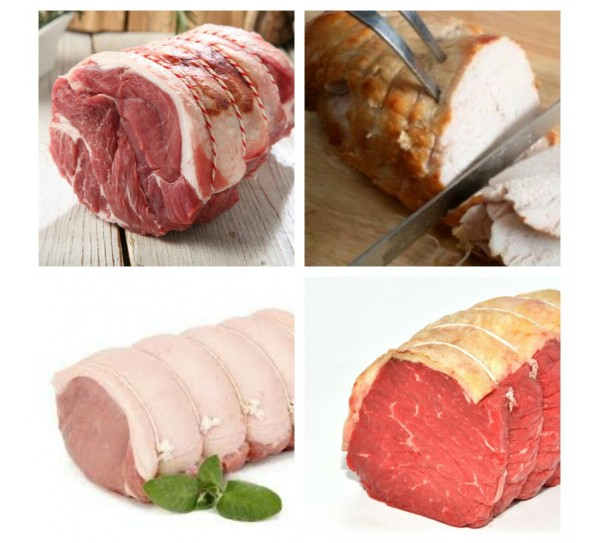 Rendalls Small Roasting Meat Pack