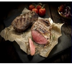 2 Wild Boar Haunch Steaks (250g)