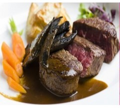 2 Reindeer Haunch Steaks (250g)