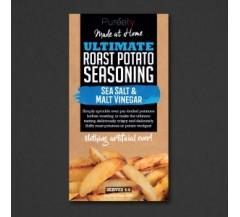 Sea Salt and Malt Vinegar Potato Wedge Seasoning