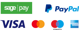 Payments accepted by Credit/Debit Card and PayPal